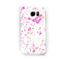 Champagne & Pink Bubbly Samsung Galaxy Case/Skin
