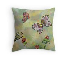 Sommerwiese Throw Pillow