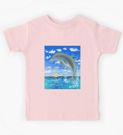 Baby Dolphin  Kids Tee