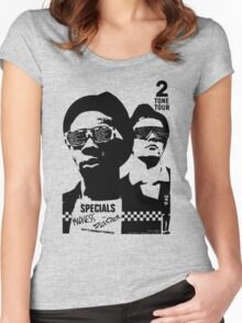 2Tone Tour Women's Fitted Scoop T-Shirt
