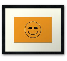 smiley game controller Framed Print