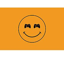 smiley game controller Photographic Print