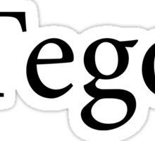 ΔΓegon  Sticker