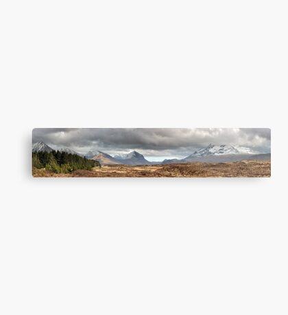 Cuillin Panorama Metal Print