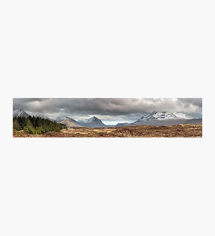 Cuillin Panorama Photographic Print