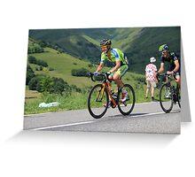 Nicolas Roche - Tour de France 2014 Greeting Card