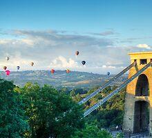 Adrift Over Bristol by DanCookePhotos