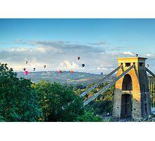 Adrift Over Bristol Photographic Print