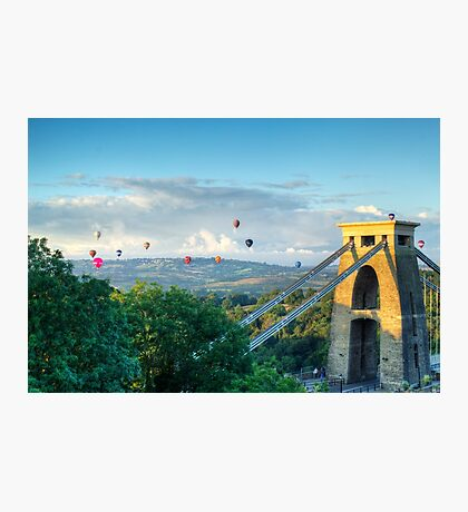 Adrift Over Bristol Photographic Print