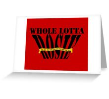 Whole Lotta Rosie- ACDC Greeting Card