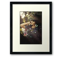 Soft sunny colors Framed Print