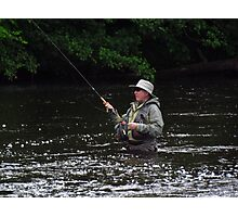 Fly Fishing Photographic Print