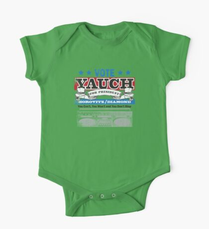 Yauch for President One Piece - Short Sleeve