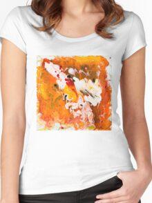 Lions Gate Flow Art  Women's Fitted Scoop T-Shirt