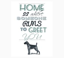 Home is Where Someone Runs to Greet You - Dog Profile 2 Kids Clothes