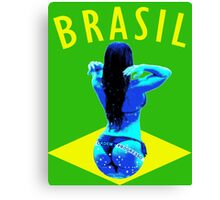Brasil Bikini  Canvas Print