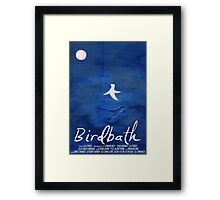 Birdbath (2013) Film Poster Framed Print