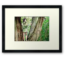 Green-elf of Ossiriand Framed Print