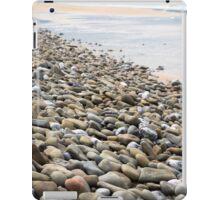 pebbled beach beside the links iPad Case/Skin