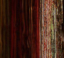 neon wood pattern by Norbert Karpen