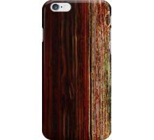 neon wood pattern iPhone Case/Skin
