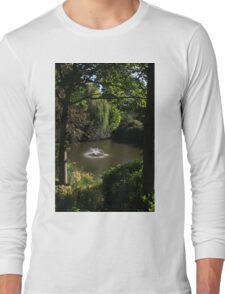 Fountain in Quarry Park, Shrewsbury Long Sleeve T-Shirt