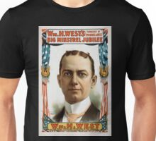 Performing Arts Posters Wm H Wests Big Minstrel Jubilee formerly of Primrose West 1758 Unisex T-Shirt
