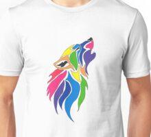 Rainbow Wolf Unisex T-Shirt