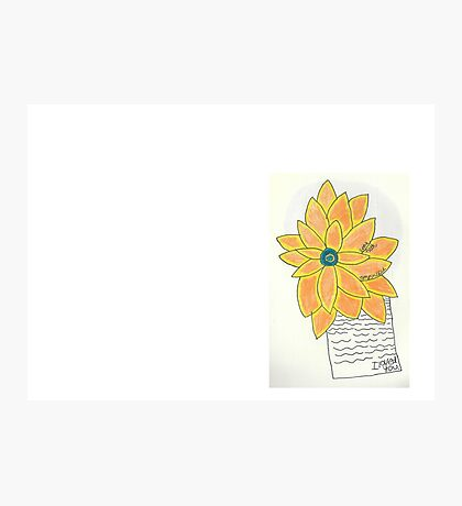Sunflowers & Suicide Notes  Photographic Print