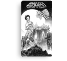 Barbara - Queen of the Galaxy Canvas Print