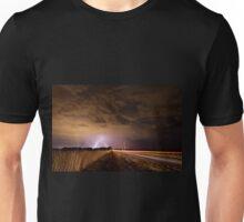 ON A DARK STORMY NIGHT Unisex T-Shirt