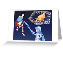 Squid Girl Crossover with RO TKD Greeting Card