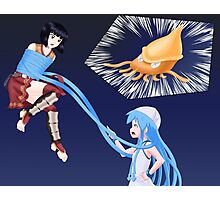 Squid Girl Crossover with RO TKD Photographic Print