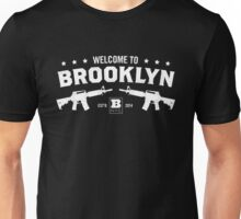 Welcome to Brooklyn (White) Unisex T-Shirt