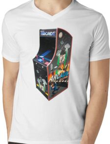 Arcade Mens V-Neck T-Shirt