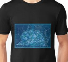 0176 Railroad Maps A map of the internal improvements of Virginia prepared by C Crozet late principal engineer of Va under a resolution of the General Assembly adopted March Inverted Unisex T-Shirt