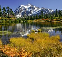 Fall at Picture Lake by lkamansky
