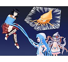 Squid Girl Crossover with RO TKD 2 Photographic Print