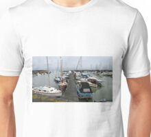 Yachts in the Marina. Unisex T-Shirt