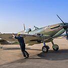 Supermarine Spitfire IIa P7350/EB-G by Colin Smedley