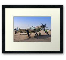 Supermarine Spitfire IIa P7350/EB-G Framed Print