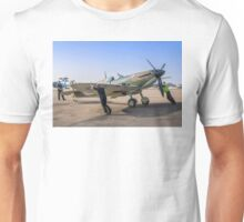 Supermarine Spitfire IIa P7350/EB-G Unisex T-Shirt