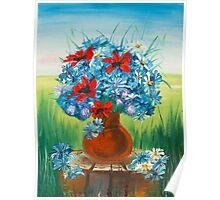 spring vase  Poster