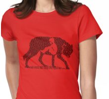 Hungry Like The Wolf Womens Fitted T-Shirt