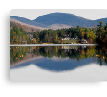 Reflections on Mirror Lake Canvas Print