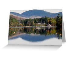 Reflections on Mirror Lake Greeting Card