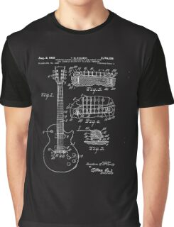 Gibson Les Paul Patent Graphic T-Shirt