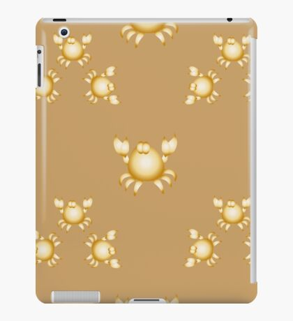 Golden crabs iPad Case/Skin