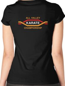 All Valley Championship Original Classic (ON-BACK-DARK) Women's Fitted Scoop T-Shirt