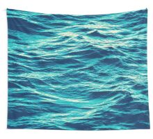 OVER THE OCEAN / 2 Wall Tapestry